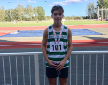 Athletics: Super Danny strikes Gold at Southern England Champs
