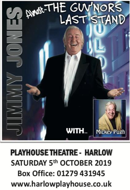 Jimmy Jones returns to the Harlow Playhouse