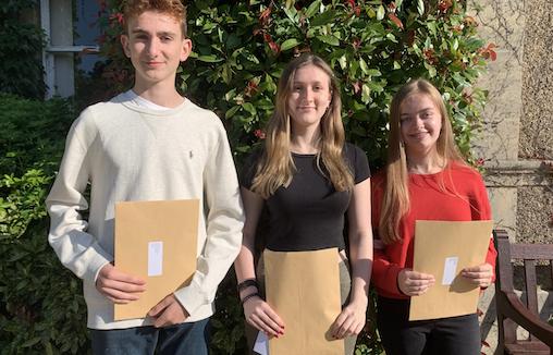 St Nicholas' celebrates GCSE results
