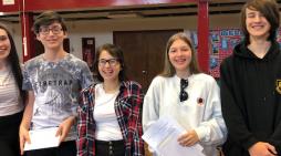 St Marks West Essex Catholic School celebrate GCSE results