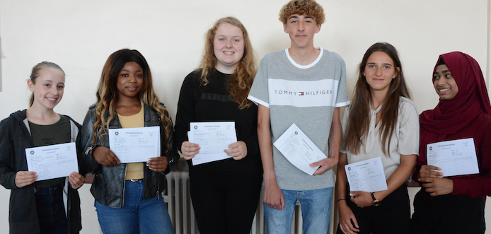 Exciting times as Stewards Academy celebrate GCSE results