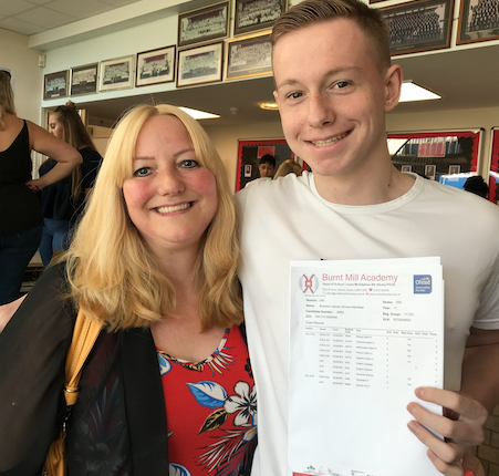 GCSEs: Great individual success stories at Burnt Mill Academy