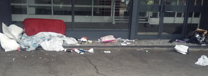 Letter to Editor: Get the drunks and drug addicts out of the town centre doorways