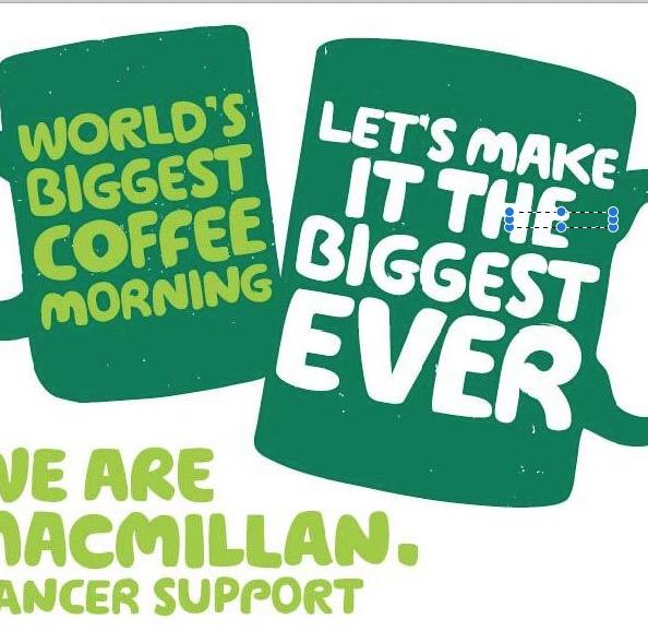 Reyland and Johnson to host MacMillan Coffee Morning