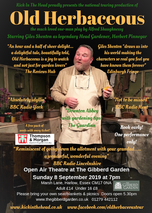 Theatre in the Garden – a Picnic Performance