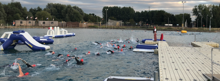 Harlow runners and triathletes make a splash at end of season event