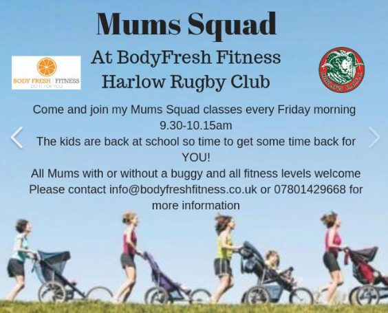 Come and join the Mum's Squad