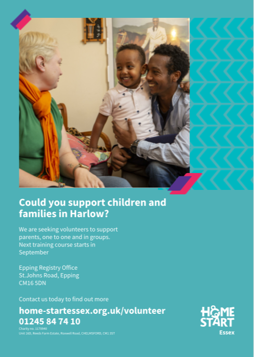Great opportunity to get into volunteering in Harlow