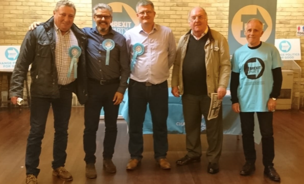 Harlow Brexit Party hold first public meeting