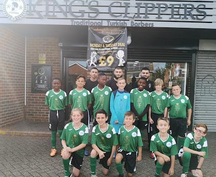 Football: Paringdon Pumas thank new sponsors
