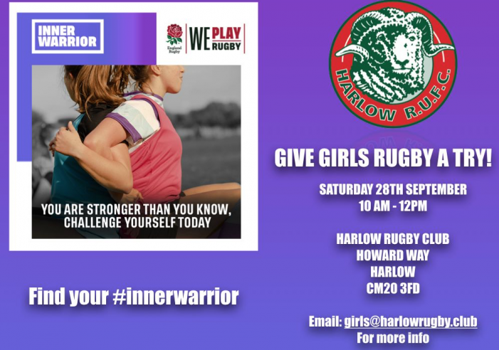 Rugby: Ladies-release your inner warrior!