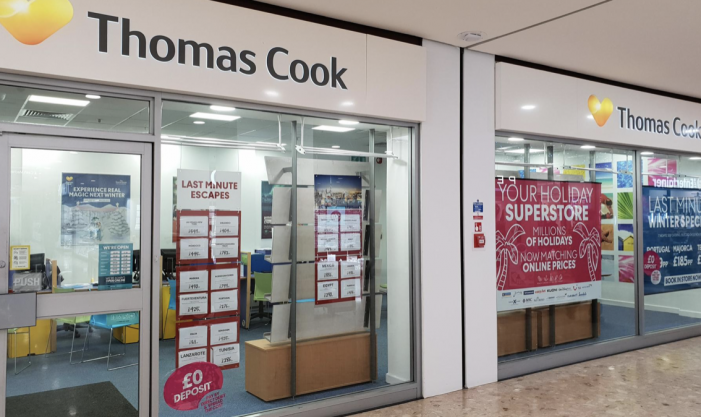 Jobs fears in Harlow as Thomas Cook goes into administration