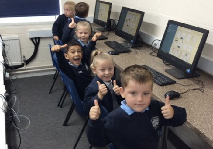 Brand new computing suite for primary school