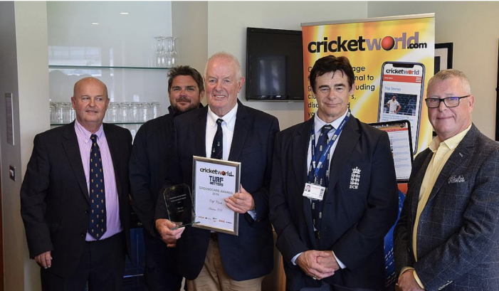 Cricket: Harlow CC groundsman catches top award