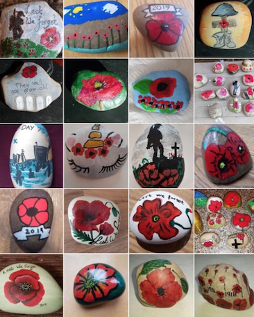 The Harlow poppy rocks hunt has started