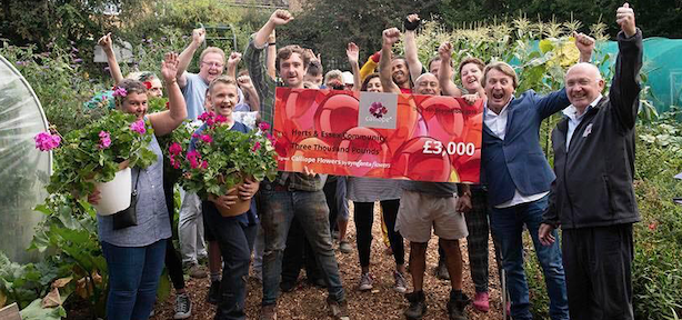 Herts and Essex Community Farm win Community Farm of the Year