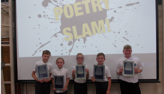 Cooks Spinney's young poets take to stage to perform live