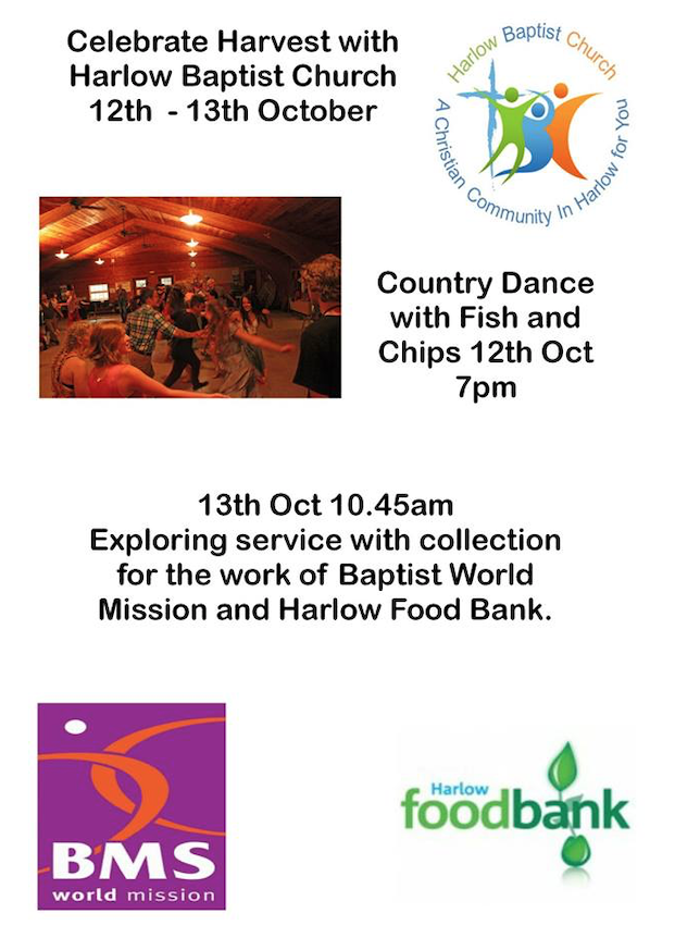 Celebrate Harvest with Harlow Baptist Church