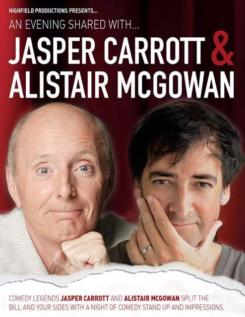 Harlow Playhouse present: An Evening Shared with Jasper Carrott and Alistair McGowan