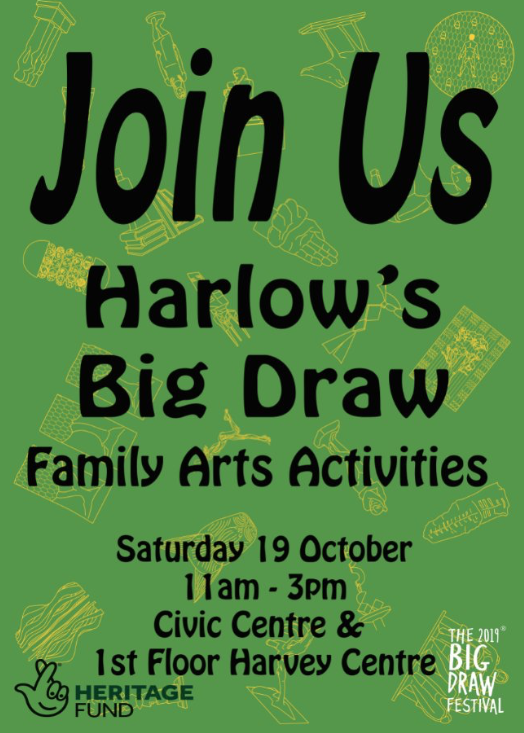 Harlow Arts Trust invite you to the Big Draw