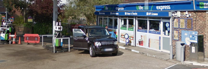 Harlow teenager arrested after police car rammed at petrol station