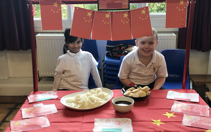 Potter Street and Purford Green pupils immerse themselves in culture on World Geography Day