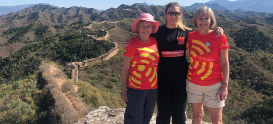 Lawyer for Harlow firm completes charity trek on Great Wall of China