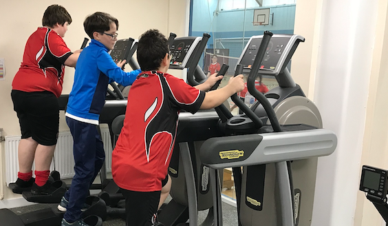 Children who may lack confidence in taking part in sporting competitions are thriving at their own clubs.