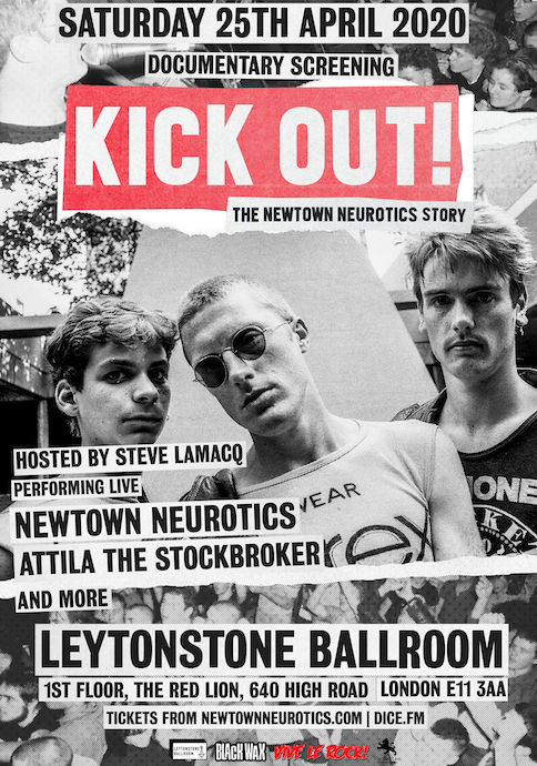 Premiere date set for documentary on the story of the Newtown Neurotics