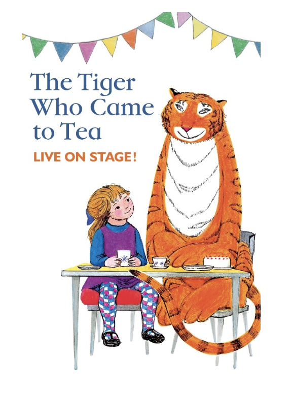 Harlow Playhouse: Tiger who came to tea to come to the Harlow Playhouse