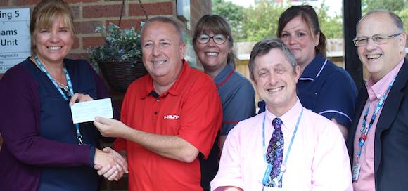 Family donation helps cancer unit at The Princess Alexandra Hospital