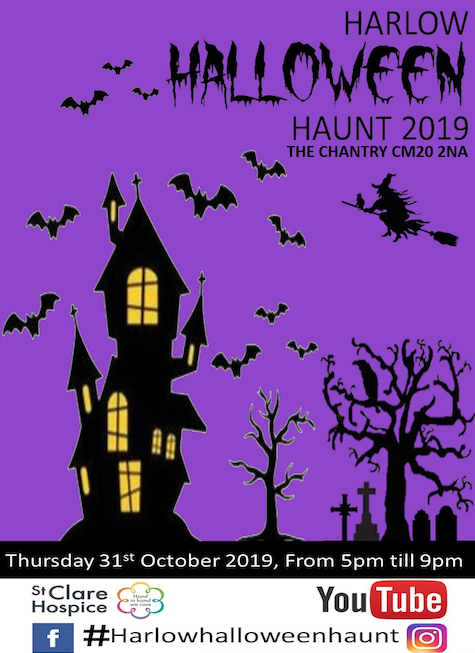 Prepare for your annual Halloween scare at The Chantry!