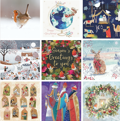 St Clare Hospice launch Christmas card collection