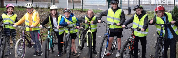 Roydon pupils complete Bikeability course