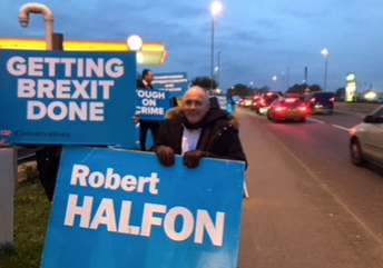 Robert Halfon launches campaign to be re-elected MP for Harlow