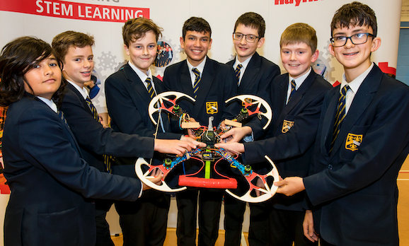 Raytheon's Quadcopter Challenge takes off in Harlow