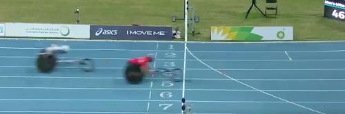Athletics: Harlow's Richard Chiassaro grabs bronze in World Paralymoic Champs