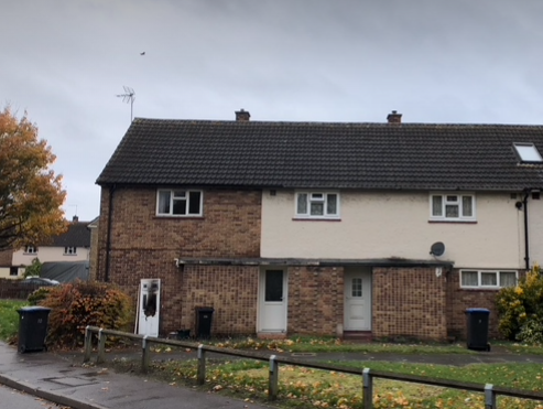 Suspected arson attack on house in The Dashes