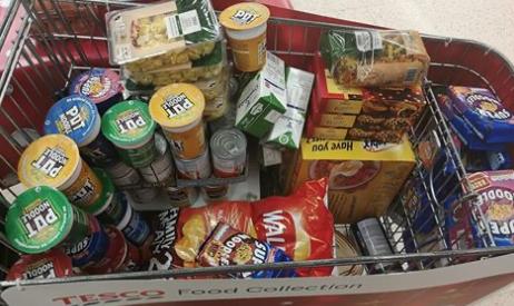Volunteers needed for Harlow Foodbank Food Collection