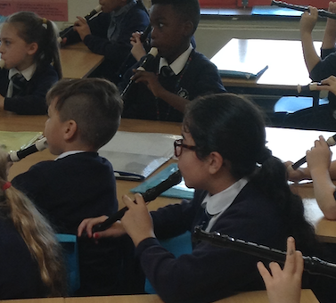 Things have got a whole lot noisier at a Harlow primary school.