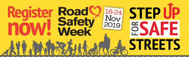 Register now for Road Safety Week