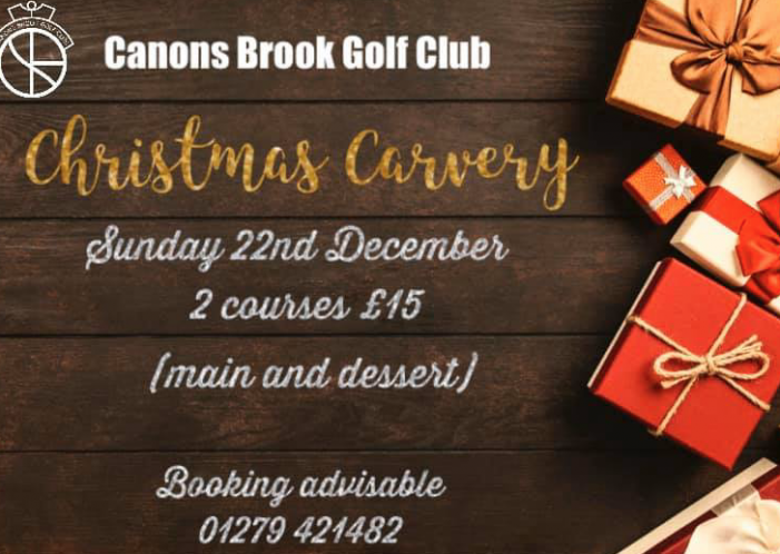 Canons Brook Golf Club Christmas Carvery