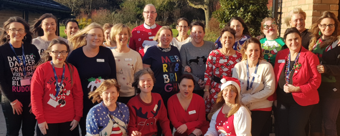 St Clare Hospice calls on schools and businesses don a jolly jumper for charity
