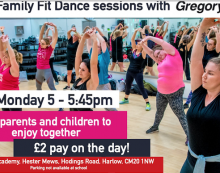 Family Fit Dance Sessions with GregoryFit