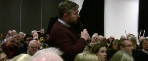 General Election Question Time: Fiery scenes as Labour candidate questioned on Jeremy Corbyn and antisemitism