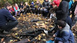 Primary school children took a leap of faith and headed off on a residential trip.