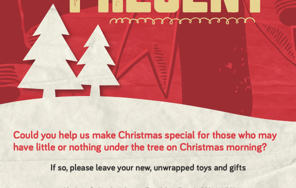 Help Salvation Army give a helping hand at Christmas