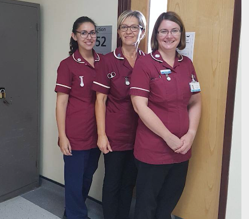 PAH team supporting patients with chronic wounds commended at national awards ceremony