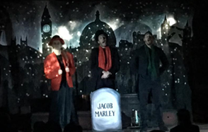 Passmores Academy: A Christmas Carol -Dickens has Year 7 captivated