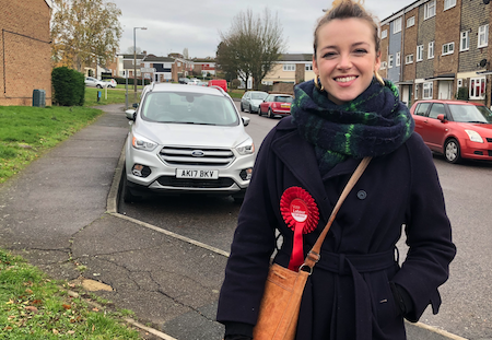 Harlow Labour's Laura McAlpine makes pledge to voters on housing and tax